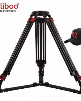 miliboo Heavy Duty Tripod MTT609A without Head Aluminum Professional Camera Stand Video Camcorder Tripod VS manfrotto Tripod