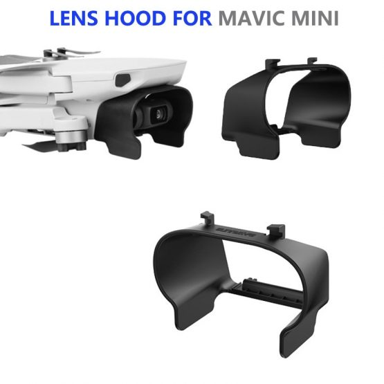 Lens Hood Anti-glare Lens Cover Gimbal Protective Cover Sunshade Sunhood for DJI Mavic Mini Drone Accessories