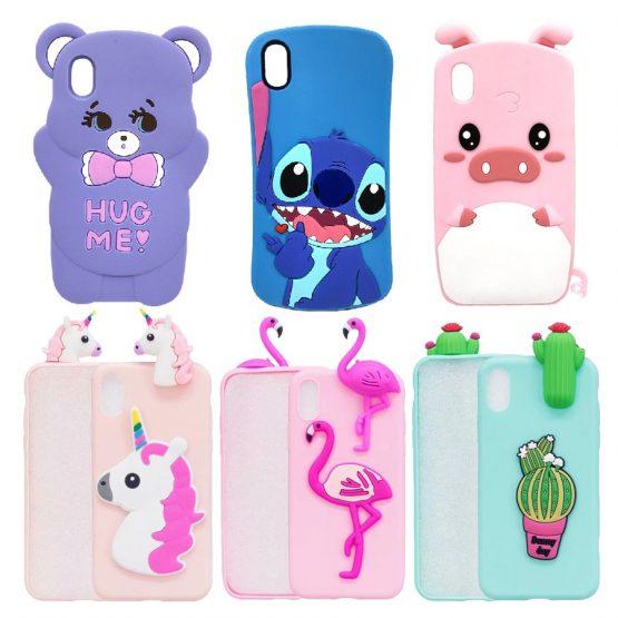 Unicorn Case For Huawei Y5 2019 Soft Silicone Phone Case For Huawei Honor 8S Honor8S 8 S Case Back Cover 5.71'' Cartoon Coque