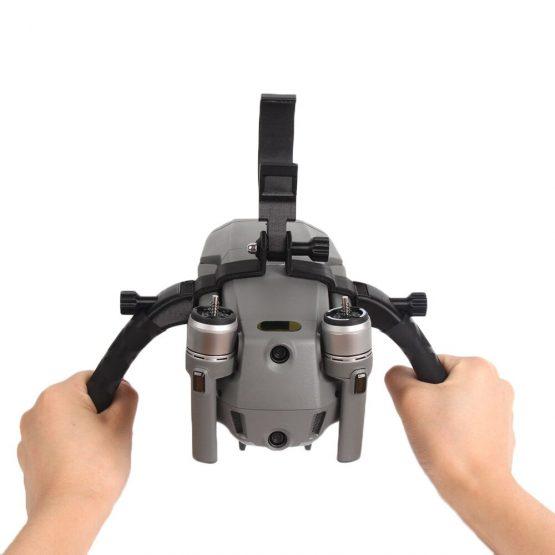 SUNNYLIFE Double-Handheld Gimbal Camera Stabilizer Bracket Holder Tripod for DJI Mavic 2 Pro Zoom Drone Remote Control Accessory