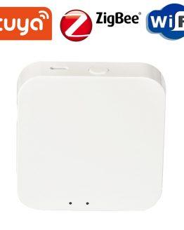 Tuya ZigBee Smart Gateway Wireless Hub Smart Home Bridge Gateway Support Smartlife TUYA Work with Alexa Google Home ZigBee Hub
