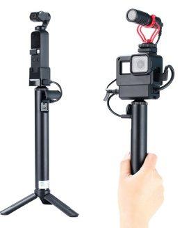 Handheld 5200mAh Battery Power Bank Selfie Stick Monopod for GoPro OSMO Pocket GDeals