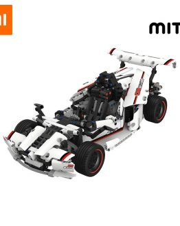 Xiaomi MITU Intelligent Building Blocks Road Racing Car Kids Toy Electric Bluetooth 5.0 APP Smart Remote Control 900+ parts