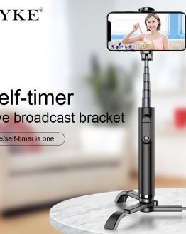CYKE MINI Selfie-Stick with Tripod Alloy selfie stand Live support Phone Smartphone Selfie Stick