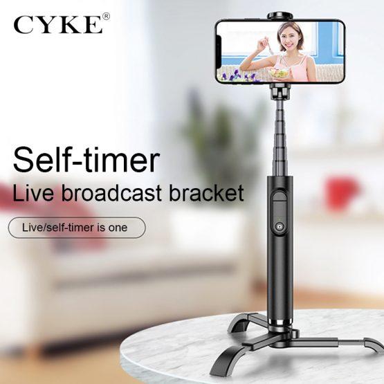 CYKE MINI Selfie-Stick with Tripod Alloy selfie stand Live support Phone Smartphone Selfie Stick