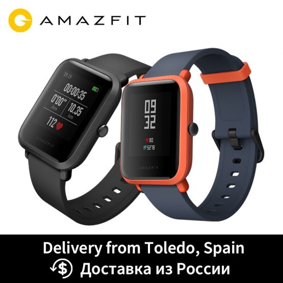 Huami Amazfit Bip Smart Watch GPS Smartwatch Android iOS Heart Rate Monitor 45 Days Battery Life IP68 Always-on Display