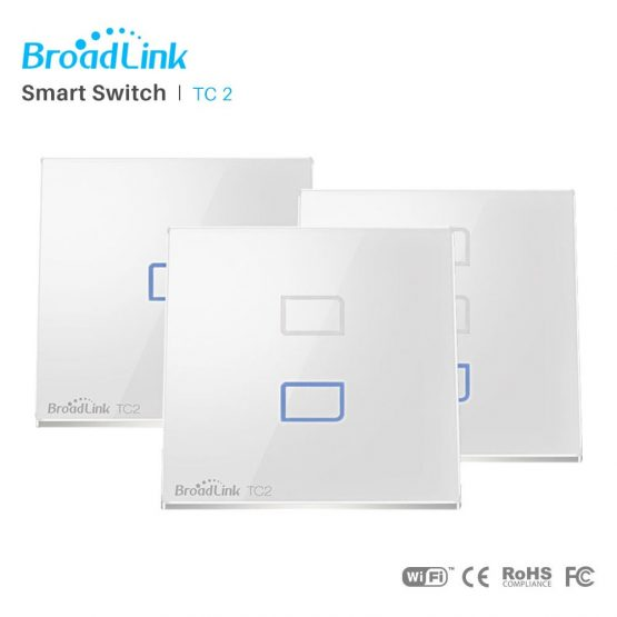 Broadlink Zigbee Switch Wall Touch WiFi Light Switch RF 433MHz Wireless Connection APP Control Via RM Pro Smart Home Automation