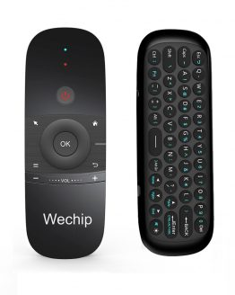 Wechip W1 2.4G Gyroscope Wireless Air Mouse With English or Russian Keyboard Smart Remote Control For Windows PC Android TV Box