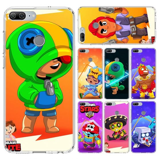 Cartoon Transparent Phone Case For Huawei Honor 20 9X Pro 10 lite 9 lite 8A 20i 8C 8S V20 Y5 Y6 Y7 Silicone TPU Phone Case Cover