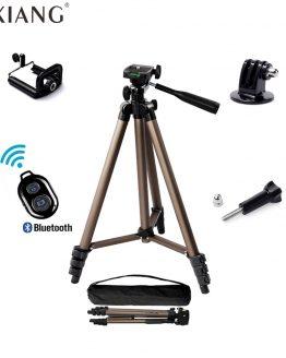 YIXIANG Protable Camera Tripod Aluminum alloy with Quick release plate Rocker Arm for Canon Nikon Sony DSLR Camera DV Camcorder