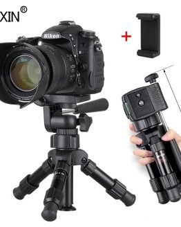 small Lightweight tabletop camera tripod phone stand holder portable Desktop Compact pocket mini tripod for Phone dslr camera