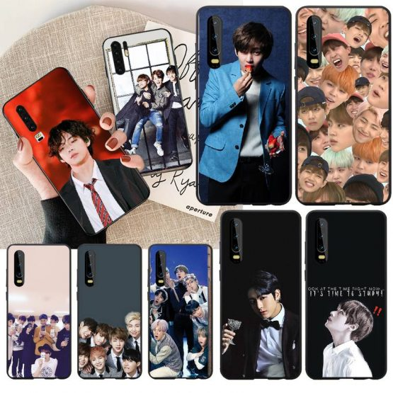 PENGHUWAN Kpop Bangtan Boys DIY Luxury Phone Case for Huawei Honor 20 10 9 8 8x 8c 9x 7c 7a Lite view