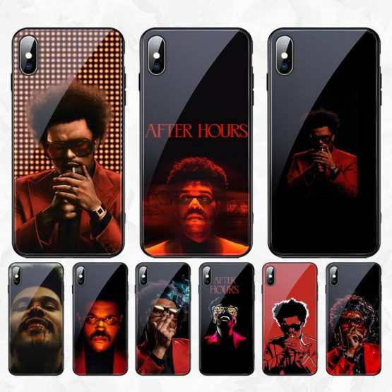 CUTEWANAN The Weeknd After Hours DIY Luxury Phone Case Tempered Glass For iPhone 11 Pro XR XS MAX 8 X 7 6S 6 Plus SE 2020 case