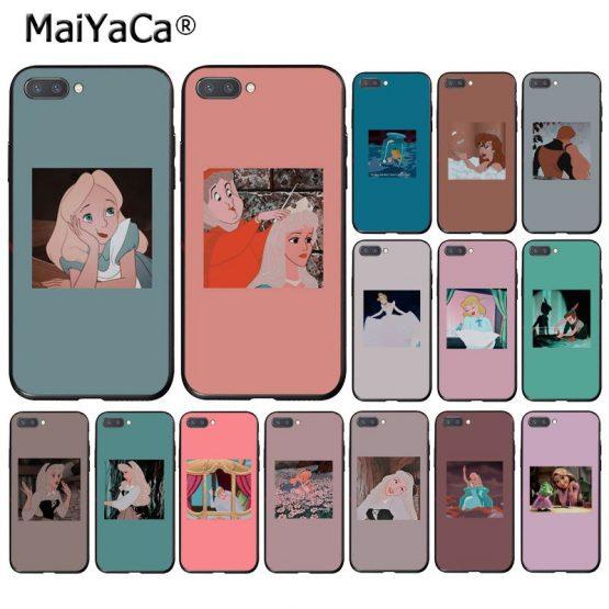 MaiYaCa Cartoon Princess Alice Elysian Cinderella Phone Case for Huawei Honor 8X 9 10 20 Lite 8A 5A 7C 10i 9X Play 7A Pro 10i