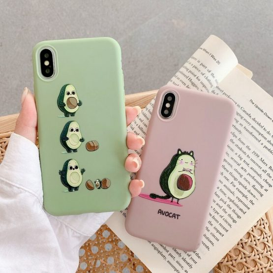 Cute Cartoon Soft Silicone Phone Case For Etui iPhone 11 Pro Max 6 6S 7 8 Plus XR XS Max SE 2020 Soft Silicone Back Cover Coque