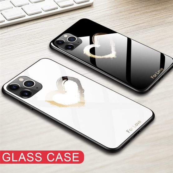 Tempered Glass Phone Case For Xiaomi Redmi K20 7A Note 5 6 7 Pro Mi Mix 3 9T Pro 8 9 5X Pocophone F1 Stained Luxury Glass case