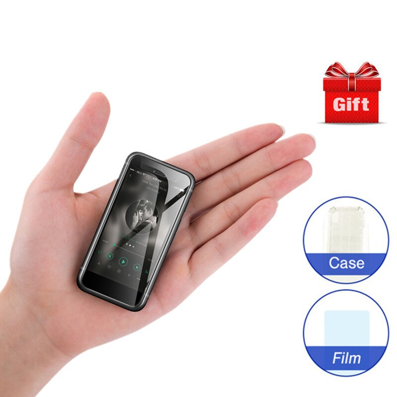Mini Android Smartphone Melrose S9 Plus 4G LTE 2.45'' Super Small Screen MTK6737 1GB 8GB Android 7.0 Cell Phone PK 2019 2019END