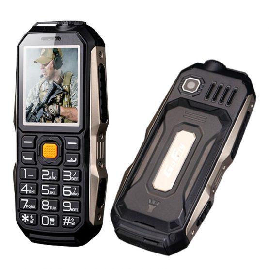 GOFLY Mini Rugged Mobile Phone For Outdoor Russian Key Shockproof FM Radio Powerbank Facebook Flashlight Small Light Power Bank