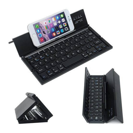 Mini Bluetooth Folding Keyboard for Mobile Phone Tablet