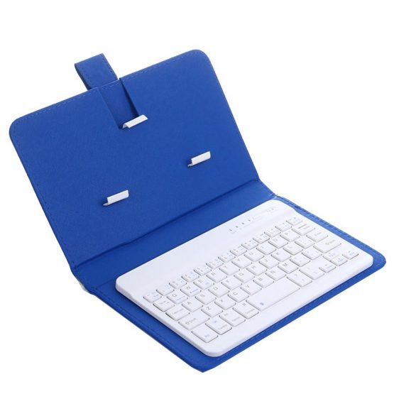 Wireless Keyboard with Protective Cover Mobile Phone