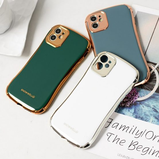Electroplating small waist phone case for iPhone X XS XR XSMAX 6 7 8 plus iPhone 11 11pro 11promax