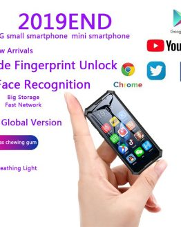 Melrose 2019END Mini Android Smartphone 2GB 32GB 4G Network Wifi GPS 3.5'' Small Size Face Recognion Backup Student Mobile Phone