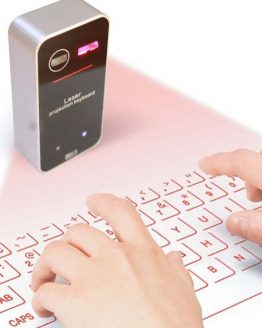 Portable Virtual Laser Keyboard With Mouse