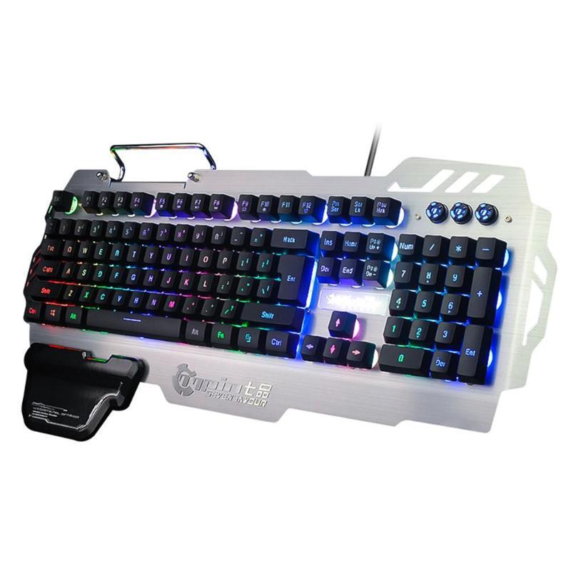 PK-900 Gaming Keyboard RGB Mixed Color Backlight
