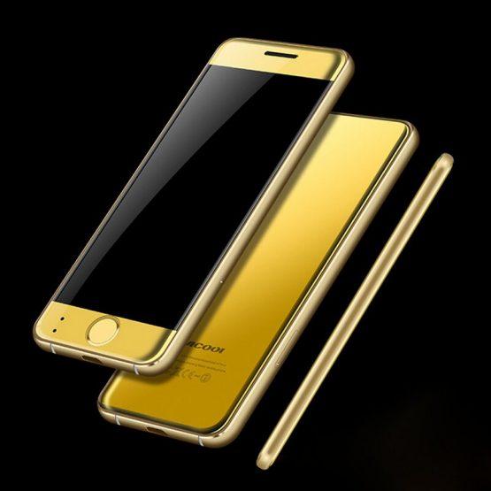 Mini Card Phone Ulcool V66 Ultra Thin Metal Case Small Phone Bluetooth Dialer 1.67 inch FM Radio Dual SIM Card PK V36 V66A