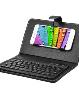 Bluetooth Keyboard phone Wireless Keyboard and phone Protective Cover Case For iPhone mobile cell phone IOS Android system