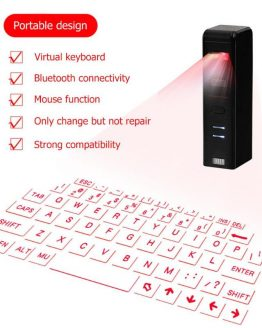 Virtual Laser Projection Keyboard for iPhone Android Smartphone