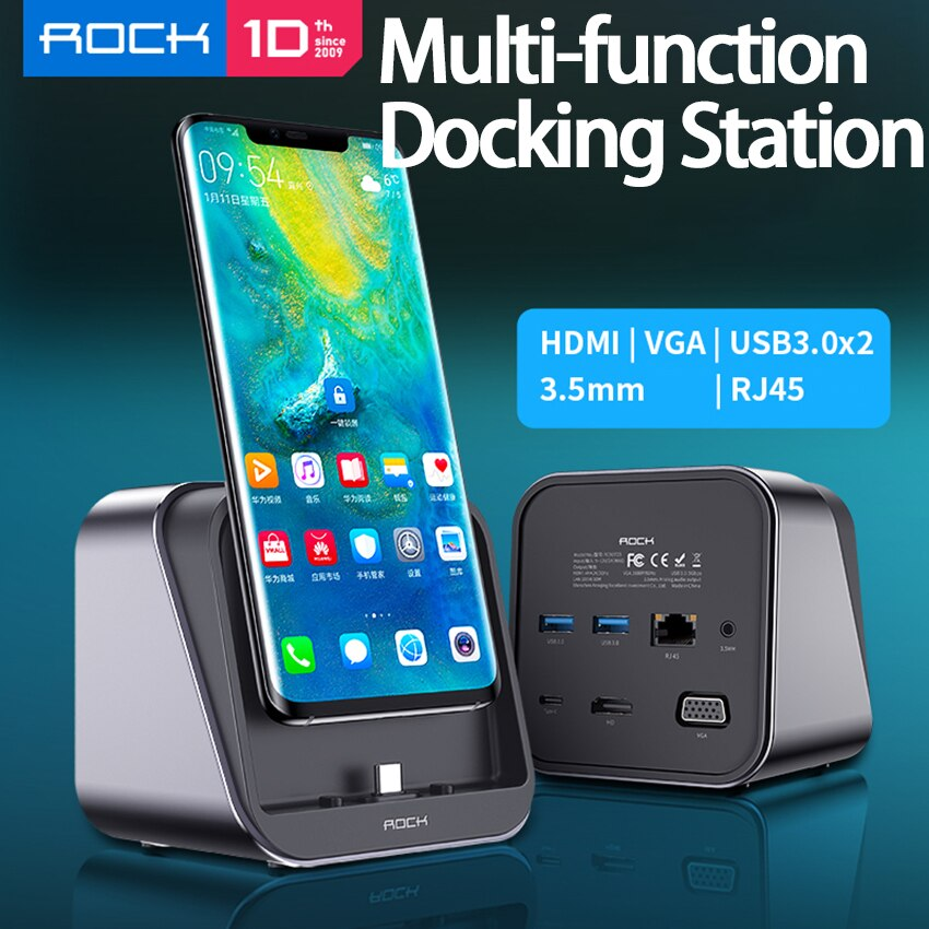 10 IN 1 USB C Hub USB Kind C Adapter Dock with 4K HDMI