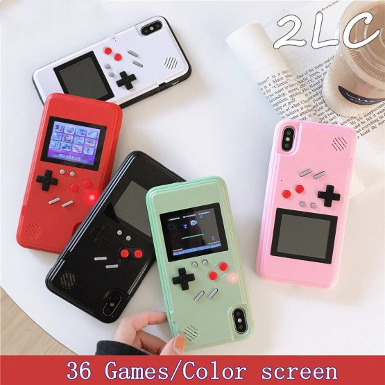 2LC 3D Display Retro Gameboy Phone Case For iphone11
