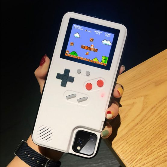 Retro Game Boy Phone Case for iPhone 11 Pro 6 6s 7 8