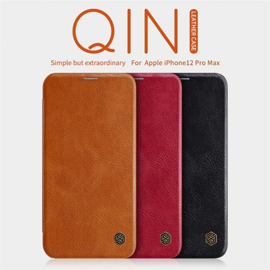 iPhone 12 Case NILLKIN Wallet Leather Flip Case