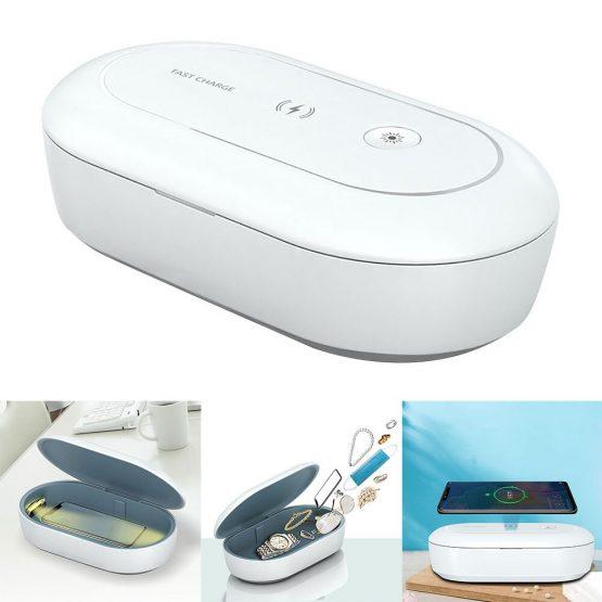 UV Sterilizer Mobile phone sterilization box Wireless Charging