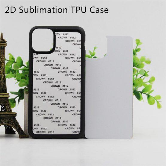 2D Sublimation Case For iPhone 11 12 Pro Max X Xr
