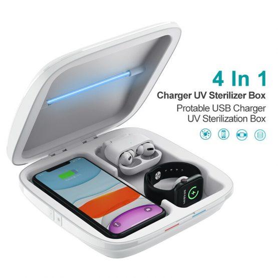 UV Sterilizer Box Mobile Phone Protable USB Charger