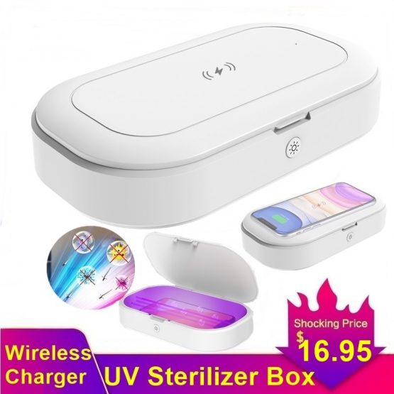 Sterilizer Box Fast Qi Wireless Charger For Iphone 11