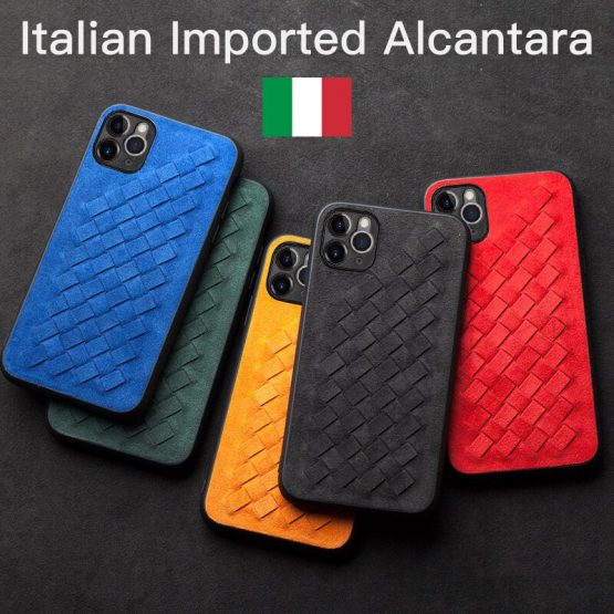 ALCANTARA Weave Case for iPhone 11 12 Pro Max