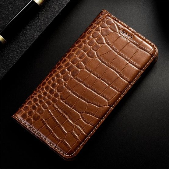 Genuine Leather For Apple iPhone 5 5s SE 2020 6 6S 7 8 Plus