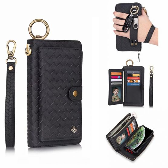 12 Card Holder Zipper Wallet Phone Case For iPhone 11 Pro