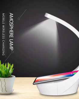 Ajustable Lamp Wireless Charger Qi Fast Charge