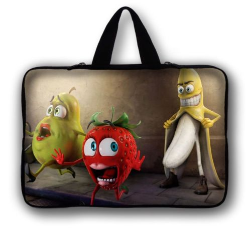 Fruits Neoprene Tablet Bag Sleeve Cases Cover Pouch For Samsung Galaxy Tab