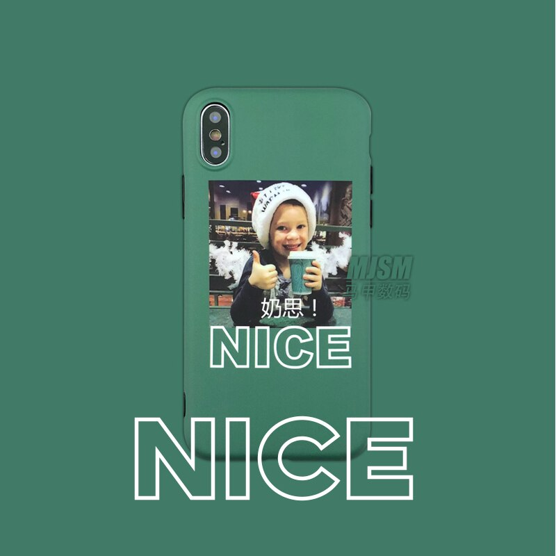 Limitted Funny Boy Silicone Case for Apple iPhone 8Plus