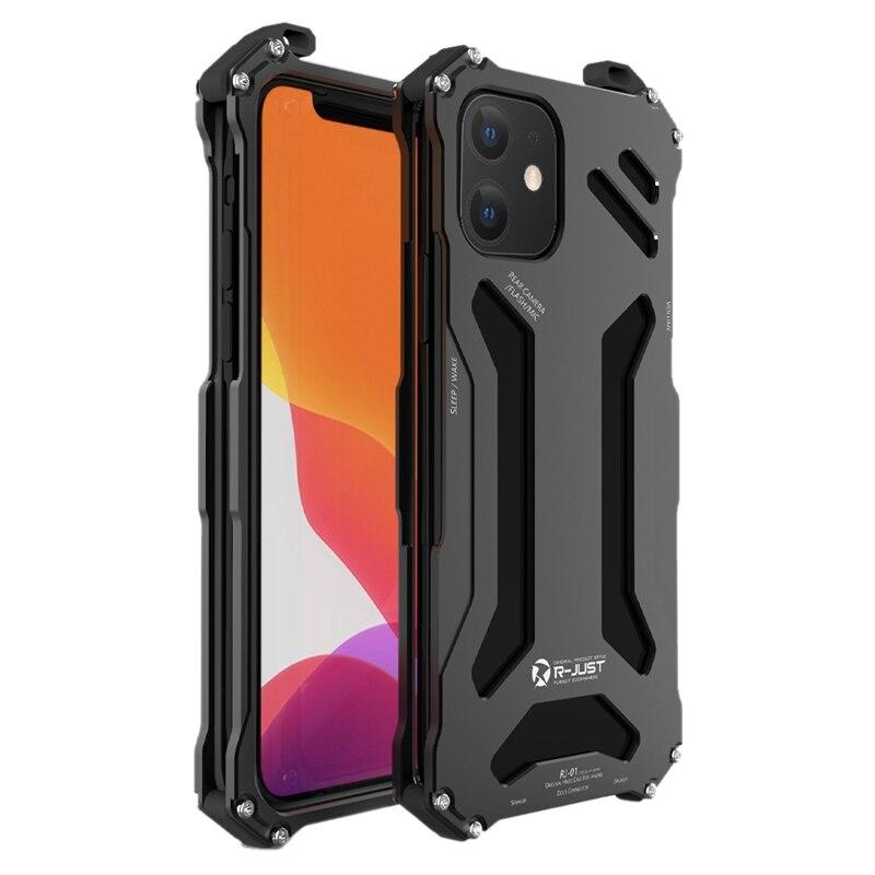 Luxury Case For Iphone 12 Se Aluminum Metal Heavy Duty