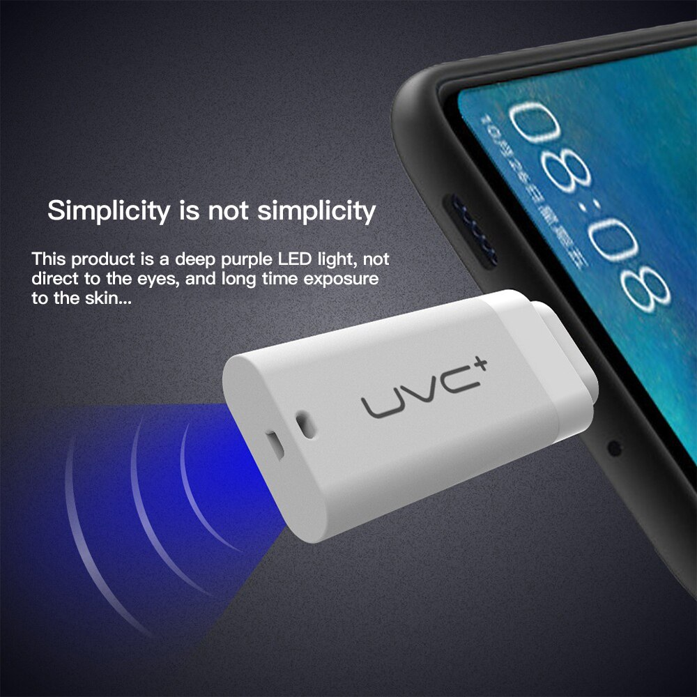 Mobile Phone Type-C for iphone Disinfection UVC Sterilizer