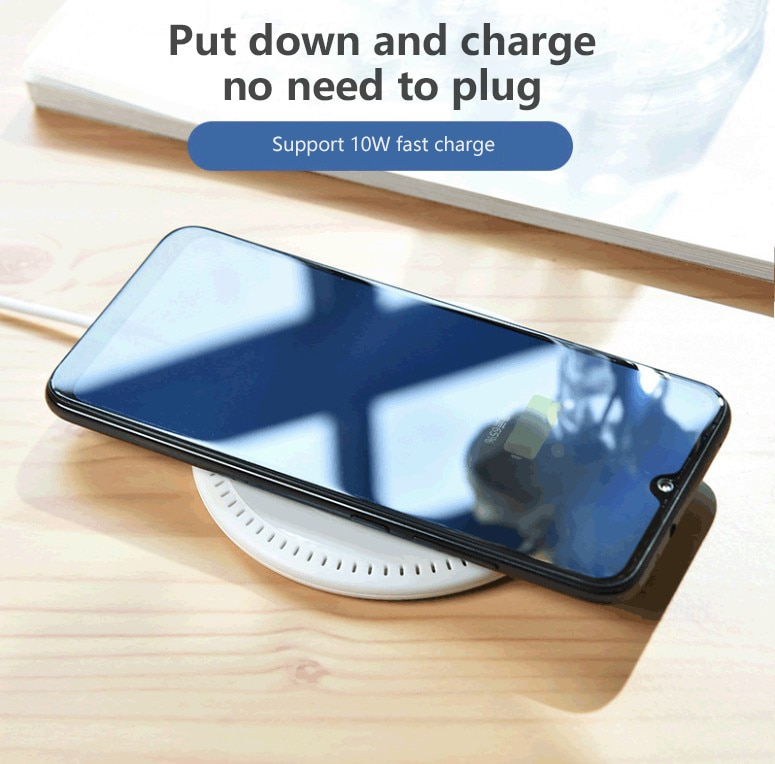 New Qi Wireless Charger 5W/10W Phone Charger Wireless