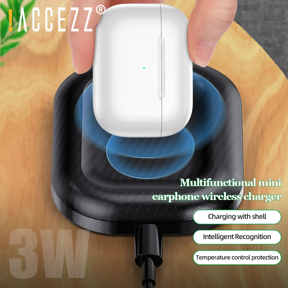 Qi Wireless Charger For Airpods 2 3 Phone Charger Dock Fast
