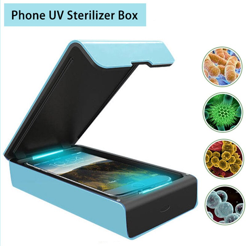 USB UV Sterilizer Box Mobile Phone Cleaner Ultraviolet Disinfection